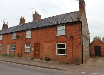 Thumbnail 3 bedroom end terrace house for sale in Denman Cottage, The Street, Great Snoring, Norfolk