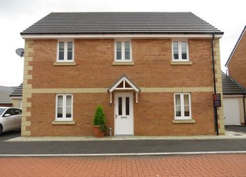 Thumbnail 4 bed detached house for sale in Rhodfa'r Celyn, Coity, Bridgend