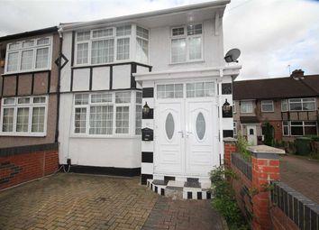 Thumbnail 5 bed semi-detached house to rent in Churchill Avenue, Hillingdon, Uxbridge
