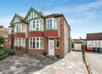 Thumbnail 3 bedroom semi-detached house for sale in The Greenway, Rayners Lane, Pinner, Middlesex