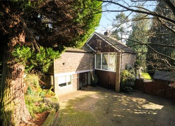 Thumbnail 4 bed detached house for sale in Grange Road, Camberley, Surrey
