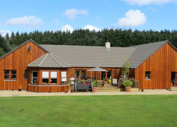 Thumbnail 5 bed detached house for sale in Sunnyside Lodge, Greeness, Cuminestown, Turriff