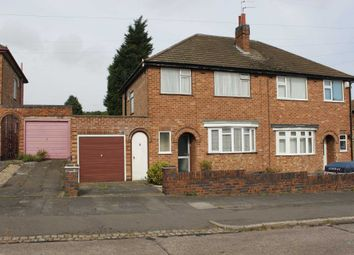Thumbnail 3 bed semi-detached house to rent in Homemead Avenue, Leicester