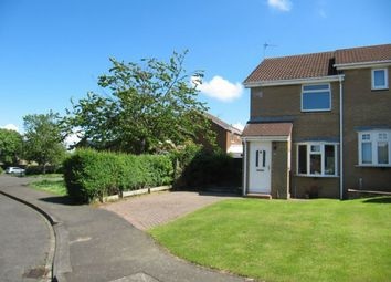 Thumbnail 2 bed semi-detached house to rent in Dereham Court, Meadow Rise, Newcastle Upon Tyne