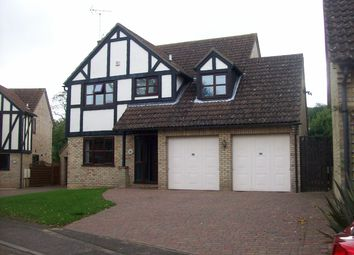 Thumbnail 4 bed detached house to rent in Martins Way, Orton Waterville, Peterborough
