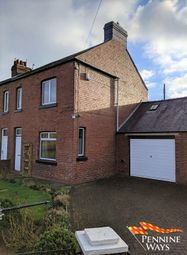 Thumbnail 2 bedroom end terrace house to rent in Thirlwall View, Greenhead