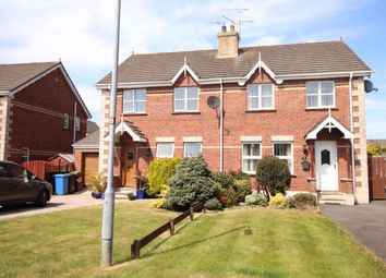 Thumbnail 3 bed semi-detached house for sale in Whitethorn Avenue, Newtownards