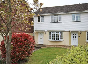 Thumbnail 3 bed end terrace house for sale in Nicholas Close, Walkford, Christchurch