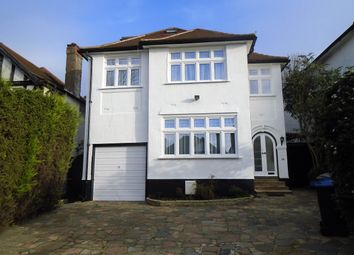 Thumbnail 5 bed detached house to rent in Eversley Avenue, Wembley Park