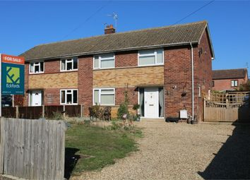 Thumbnail 3 bed semi-detached house for sale in St Johns Close, Baston, Peterborough, Lincolnshire