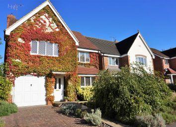 Thumbnail 4 bedroom detached house for sale in Abbottsleigh Gardens, Caversham, Reading