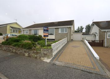 Thumbnail 2 bed semi-detached bungalow for sale in Bedowan Meadows, Tretherras, Newquay