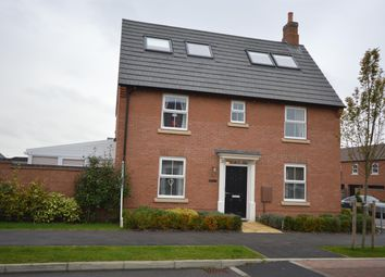 Thumbnail 5 bed detached house for sale in Abbott Way, Whetstone, Leicester