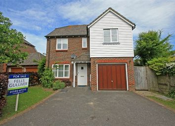Thumbnail 4 bed detached house for sale in Shepherds Way, Everton, Hampshire