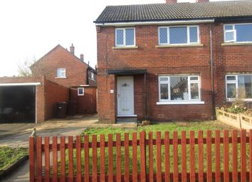 Thumbnail 3 bed semi-detached house to rent in Broadacre Road, Ossett, Wakefield