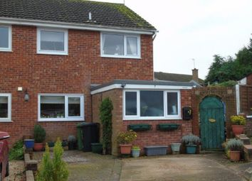 Thumbnail 3 bed semi-detached house for sale in Laburnum Close, Ross-On-Wye, Herefordshire
