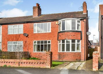 Thumbnail 3 bed semi-detached house for sale in Manley Road, Whalley Range/ Chorlton Border, Manchester