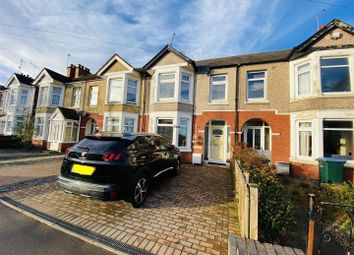 Thumbnail 3 bed terraced house for sale in Wallace Road, Coventry