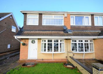 Thumbnail 3 bed semi-detached house for sale in 56 Kirkwall Close, Stockton-On-Tees