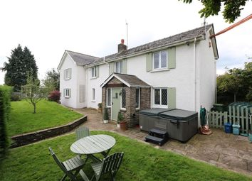 Thumbnail 3 bed detached house for sale in Ty-Tach Lane, Llanvapley, Abergavenny