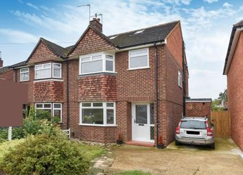Thumbnail 4 bedroom semi-detached house for sale in Kinross Drive, Sunbury-On-Thames
