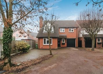 Thumbnail 4 bed detached house for sale in Larch Close, Steeple View, Laindon
