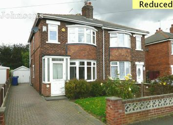 Thumbnail 4 bed semi-detached house for sale in Thorntondale Road, Scawsby, Doncaster.