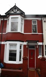 Thumbnail 3 bed terraced house to rent in Cambridge Road, Newport