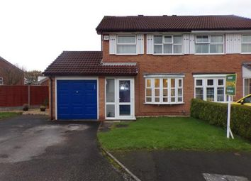 Thumbnail 3 bed semi-detached house for sale in Foxhope Close, Birmingham, West Midlands