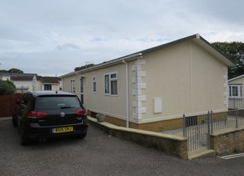 Thumbnail 2 bed mobile/park home for sale in Rose Gardens, Glenholt Park, Plymouth