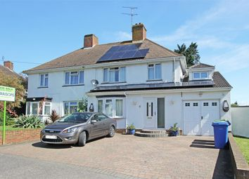 Thumbnail 4 bedroom semi-detached house for sale in Manor Grove, Sittingbourne, Kent
