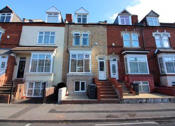 Thumbnail 4 bed terraced house for sale in Knowle Road, Sparkhill, Birmingham