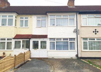 Thumbnail 3 bedroom terraced house to rent in Lynton Avenue, Romford
