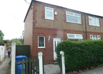 Thumbnail 3 bed semi-detached house to rent in Gladstone Street, Stockport
