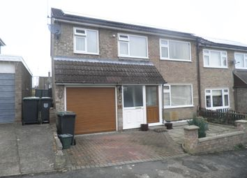 Thumbnail 4 bed semi-detached house for sale in Nene View, Oundle, Peterborough