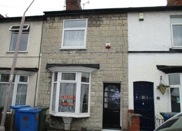 Thumbnail 2 bed terraced house to rent in Howard Road, Mansfield
