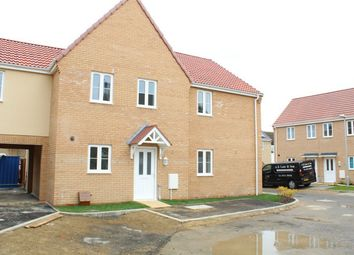 Thumbnail 3 bed end terrace house for sale in Windmill Street, Whittlesey, Peterborough