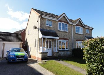 Thumbnail 3 bedroom semi-detached house to rent in Tassel Road, Bury St. Edmunds