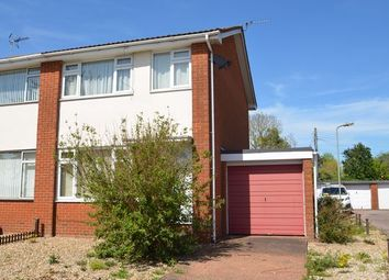Thumbnail 3 bedroom semi-detached house for sale in South View Close, Willand, Cullompton