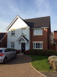 Thumbnail 4 bed detached house to rent in Wheatsheaf Close, Sindlesham, Wokingham