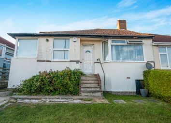 Thumbnail 3 bed semi-detached bungalow for sale in Conqueror Road, St. Leonards-On-Sea