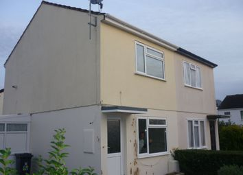 Thumbnail 2 bedroom semi-detached house to rent in Poundsland, Broadclyst, Exeter