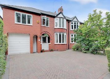 Thumbnail 5 bed semi-detached house for sale in Beach Road, Hartford, Northwich