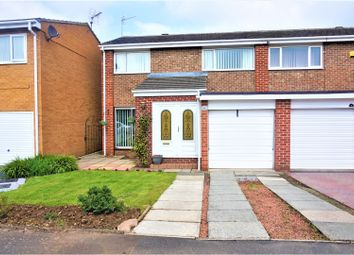 Thumbnail 3 bed semi-detached house for sale in Sandling Court, Middlesbrough