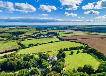 Thumbnail 4 bed detached house for sale in Nr Caerhays Beach, The Roseland, Truro