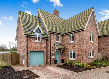 Thumbnail 4 bed detached house for sale in Carpenters Yard, Fressingfield, Eye
