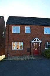 Thumbnail 1 bed semi-detached house to rent in Simons Road, Market Drayton