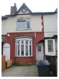 Thumbnail 3 bed terraced house to rent in Churchill Road, Bordesley Green, Birmingham