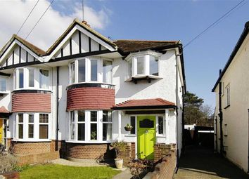 Thumbnail 3 bedroom semi-detached house to rent in Cranleigh Gardens, Kingston Upon Thames, Surrey