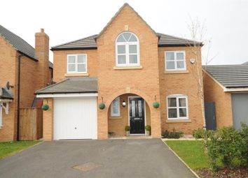 Thumbnail 4 bed detached house for sale in Edgewater Place, Edgewater Park, Warrington